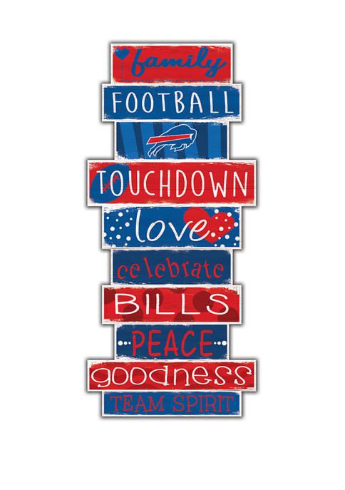 Fan Creations NFL Buffalo Bills Celebrations Stack 24