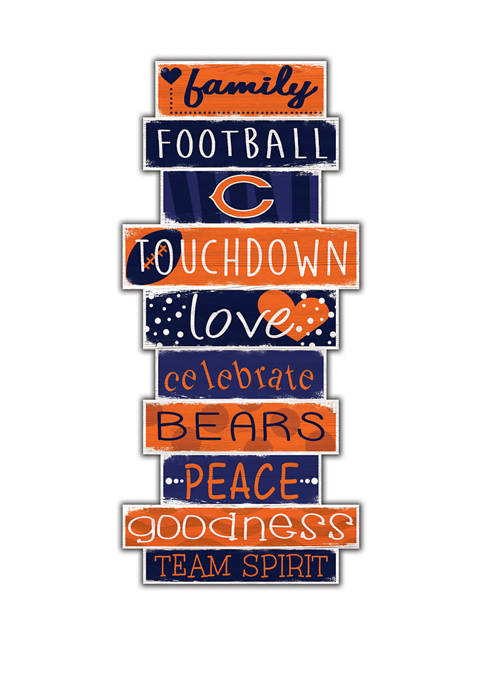 Fan Creations NFL Chicago Bears Celebrations Stack 24