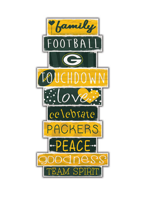 Fan Creations NFL Green Bay Packers Celebrations Stack