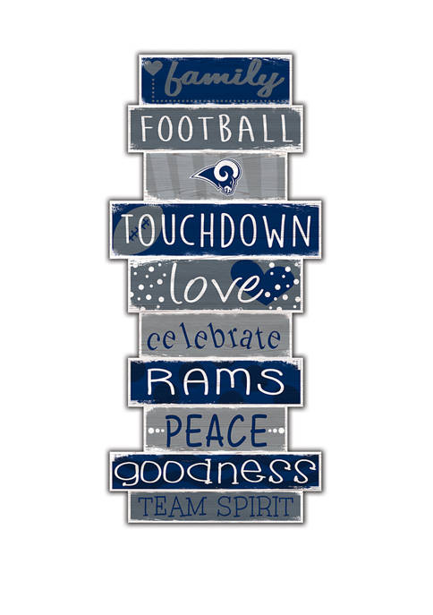 Fan Creations NFL Los Angeles Rams Celebrations Stack