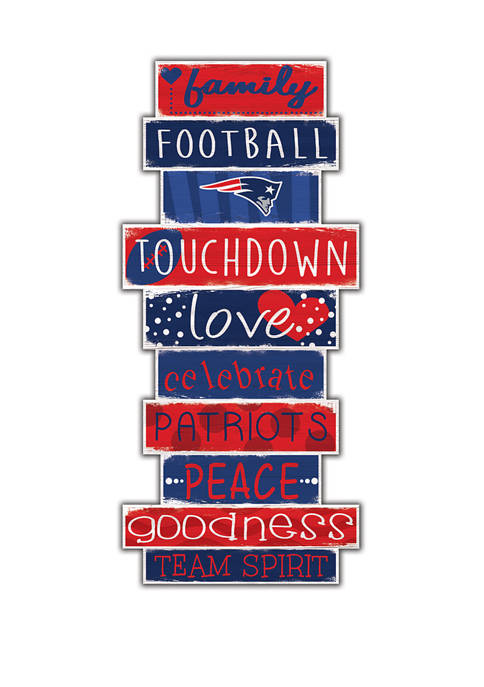 Fan Creations NFL New England Patriots Celebrations Stack