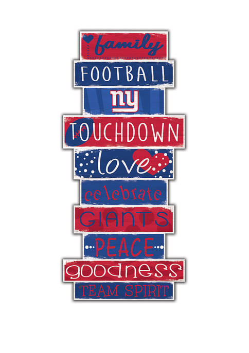 Fan Creations NFL New York Giants Celebrations Stack