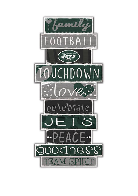 Fan Creations NFL New York Jets Celebrations Stack