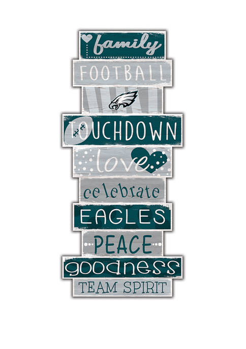 Fan Creations NFL Philadelphia Eagles Celebrations Stack 24