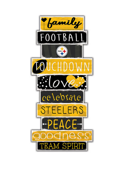 Fan Creations NFL Pittsburgh Steelers Celebrations Stack 24