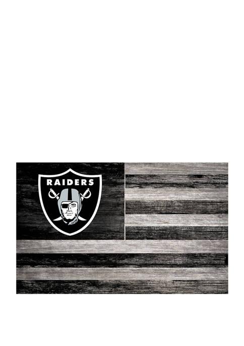 Fan Creations NFL Oakland Raiders 11 in x