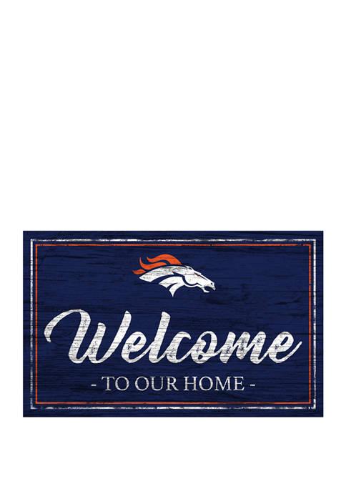 Fan Creations NFL Denver Broncos 11 in x