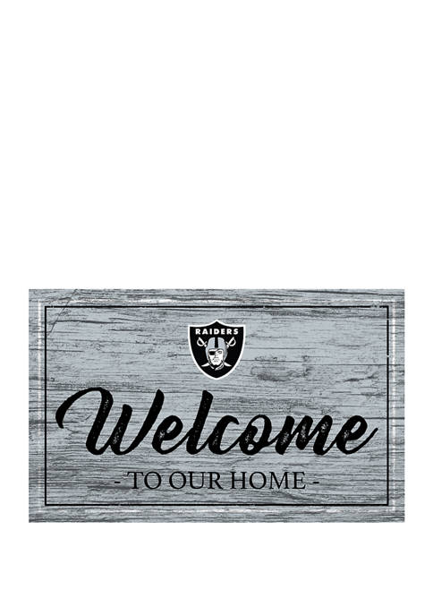Fan Creations NFL Oakland Raiders 11 in x