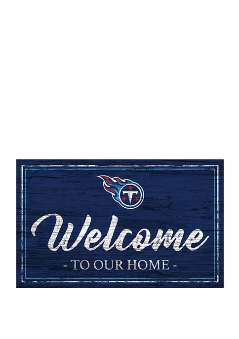 Fan Creations NFL Tennessee Titans 11 in x