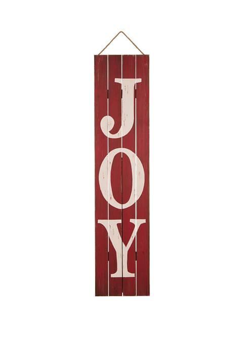 Glitz Home Christmas Wooden Porch Sign