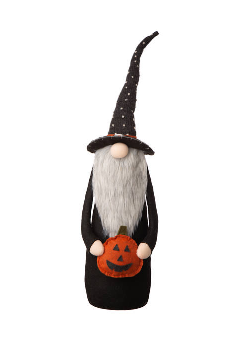 Halloween Fabric Gnome Standing Décor