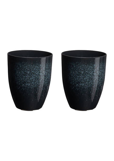 Set of 2 Tall Planters