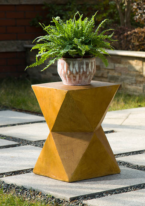Geometric End Table