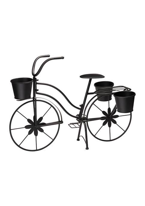 Bicycle Large Metal Planter