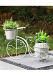 Bicycle Metal Planter