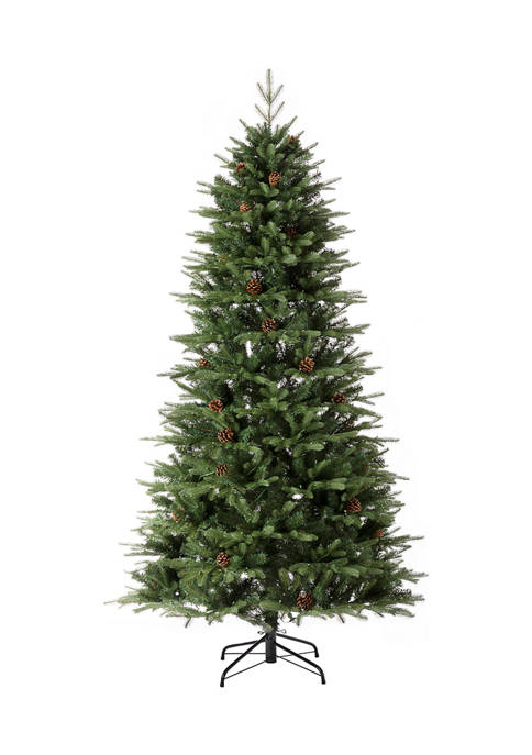 Glitz Home Pre-Lit Green Fir Artificial Christmas Tree