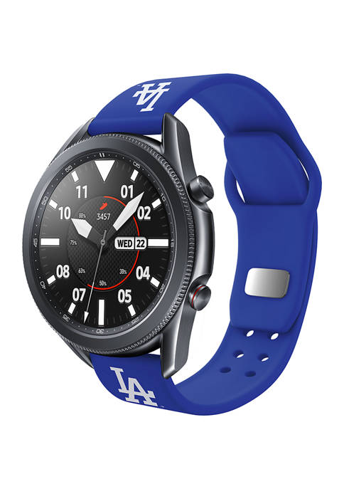 MLB Los Angeles Dodgers Silicone Band Compatible with Samsung Watch