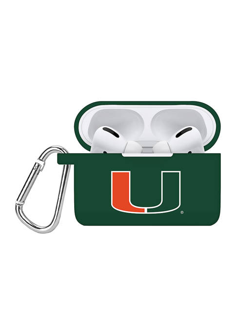 Affinity Bands NCAA Miami Hurricanes GreenAirPods Pro Case
