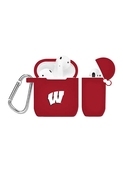 NCAA Wisconsin Badgers AirPod Case Cover
