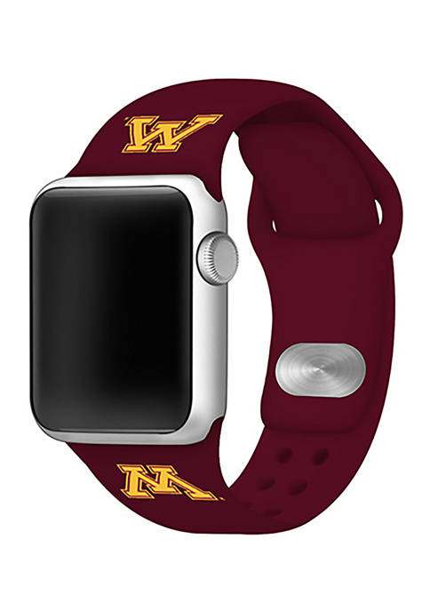 Affinity Bands NCAA Minnesota Golden Gophers Silicone Apple