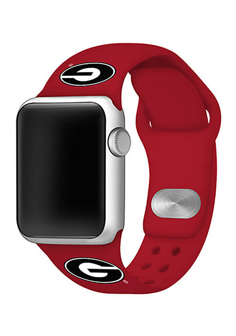 Affinity Bands NCAA Georgia Bulldogs Silicone Apple Watch