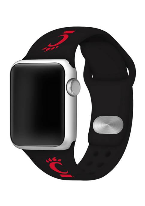 Affinity Bands NCAA Cincinnati Bearcats Silicone Apple Watch