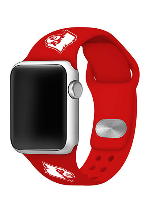Affinity Bands NCAA Louisville Cardinals Silicone Apple Watch