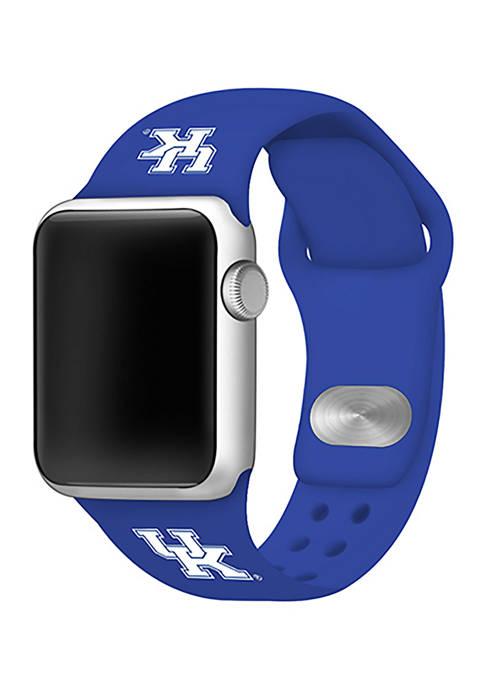NCAA Kentucky Wildcats Silicone Apple Watch Band 38 Millimeter