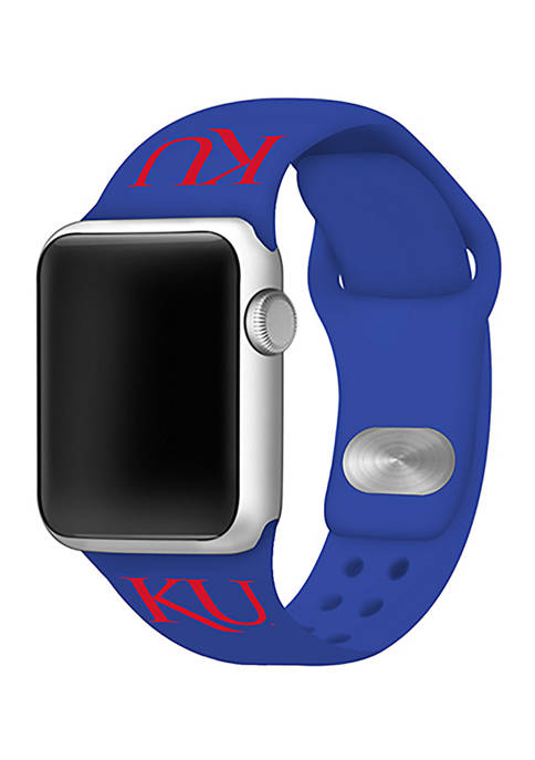 Affinity Bands NCAA Kansas Jayhawks Silicone Apple Watch