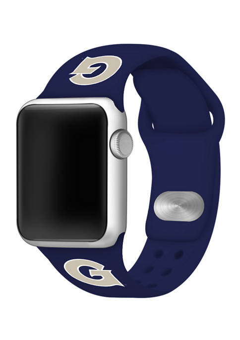 NCAA Georgetown Hoyas Silicone Apple Watch Band 38 Millimeter