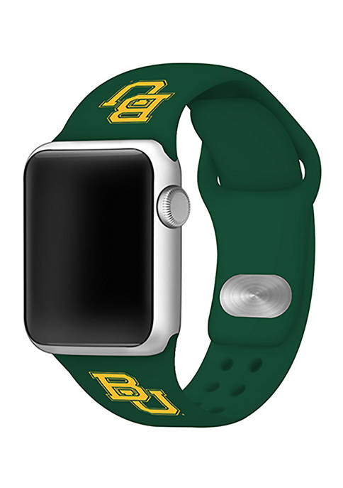 NCAA Baylor Bears Silicone Apple Watch Band 38 Millimeter