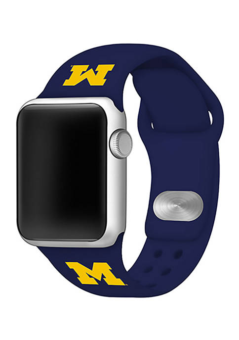 Affinity Bands NCAA Michigan Wolverines 42 Millimeter Silicone