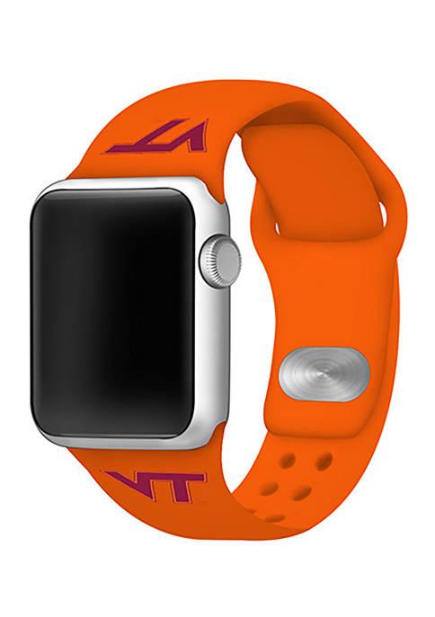 NCAA Virginia Tech Hokies 42 Millimeter Silicone Apple Watch Band