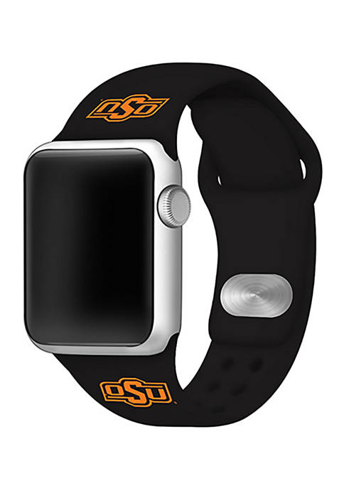 NCAA Oklahoma State Cowboys Silicone 42 Millimeter Apple Watch Band