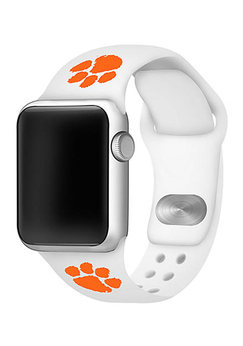 Affinity Bands NCAA Clemson Tigers Silicone Apple Watch