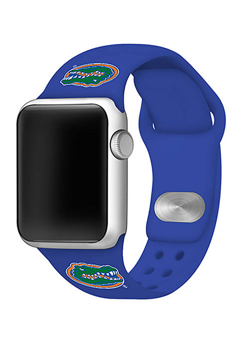 NCAA Florida Gators Silicone Apple Watch Band 42 Millimeter