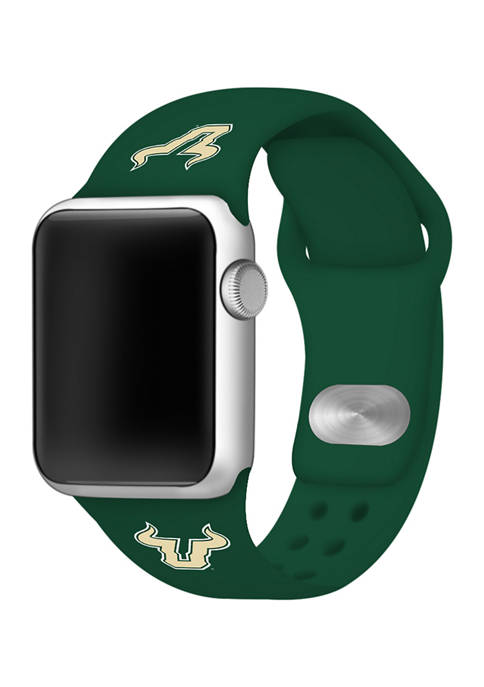Affinity Bands NCAA South Florida Bulls Silicone Apple