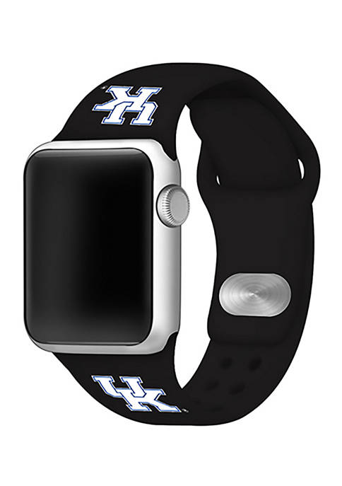 NCAA Kentucky Wildcats Silicone Apple Watch Band 42 Millimeter
