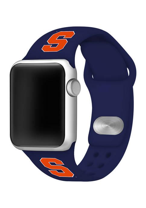 Affinity Bands NCAA Syracuse University Silicone Apple Watch