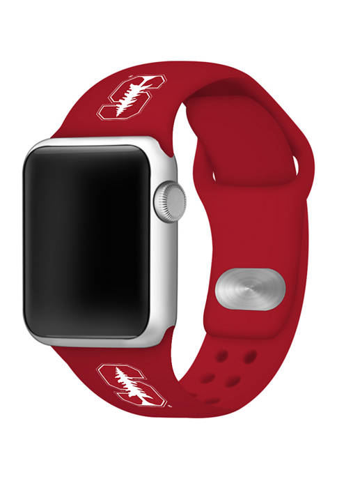 NCAA Stanford Cardinals Silicone Apple Watch Band