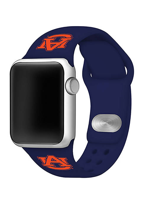 NCAA Auburn Tigers Silicone 42 Millimeter Apple Watch Band