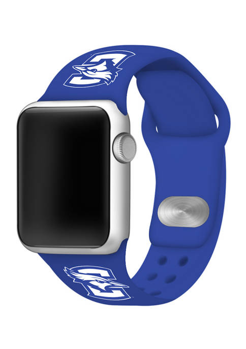 NCAA Creighton Blue Jays Silicone 42 Millimeter Apple Watch Band
