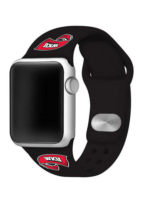 NCAA Western Kentucky Hilltoppers Silicone Apple Watch Band