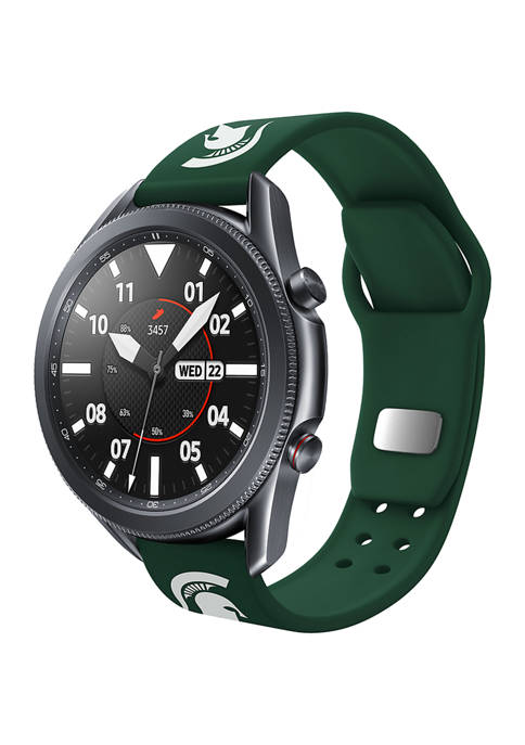 NCAA Michigan State Spartans 20 Millimeter Samsung Smartwatch Band