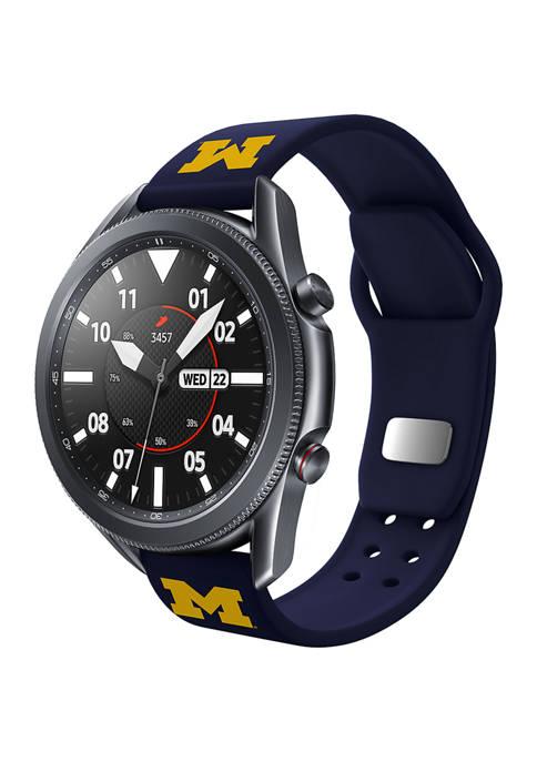 NCAA Michigan Wolverines 20 Millimeter Samsung Smartwatch Band