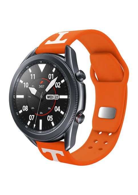 NCAA Tennessee Vols 20 Millimeter Silicone Band Compatible with Samsung Watch