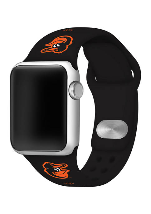 MLB Baltimore Orioles Silicone Apple Watch Band