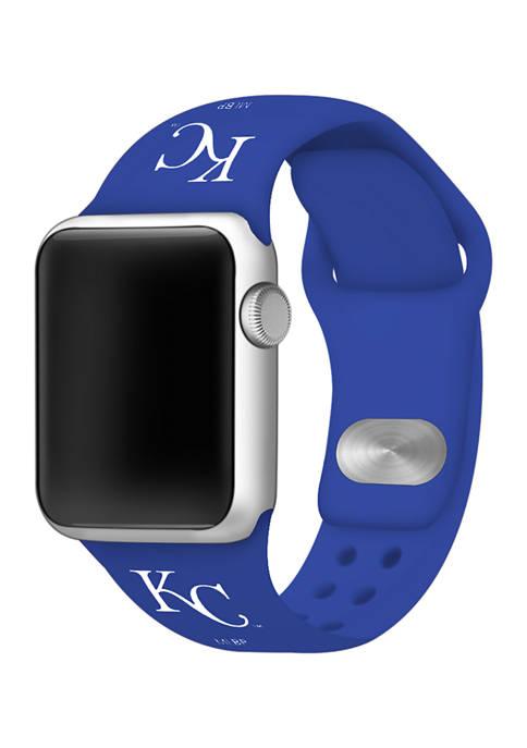 MLB Kansas City Royals Silicone Apple Watch Band