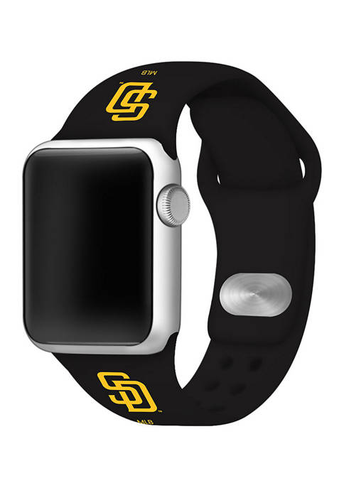 MLB San Diego Padres Silicone Apple Watch Band