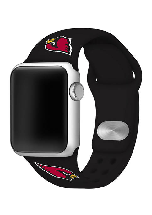 NFL Arizona Cardinals Silicone 38 Millimeter Apple Watch Band